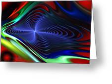 Abstract 081510 Greeting Card