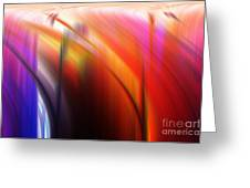 Abstract 0902 C Greeting Card