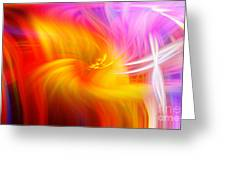 Abstract 0902 L Greeting Card