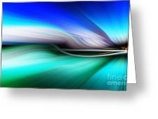 Abstract 0902 M Greeting Card