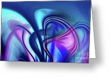 Abstract 0902 N Greeting Card