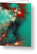 Abstract 090710 Greeting Card