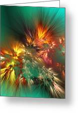 Abstract 090710a Greeting Card