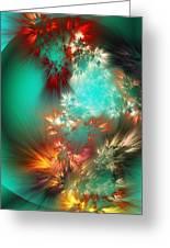 Abstract 090710b Greeting Card