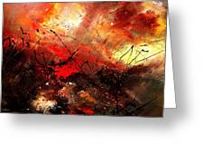 Abstract 100202 Greeting Card