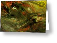 Abstract 102910a Greeting Card