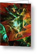 Abstract 110810 Greeting Card