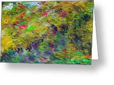 Abstract 111510 Greeting Card