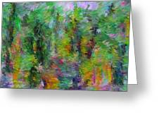 Abstract 111510a Greeting Card