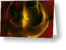 Abstract 120610a Greeting Card