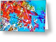 Abstract 128 Greeting Card