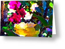 Abstract 140 Greeting Card