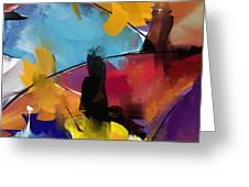 Abstract 1412 Greeting Card