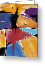 Abstract 1445 Greeting Card