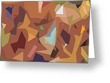 Abstract 16 Greeting Card