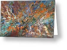 Abstract #179 Greeting Card