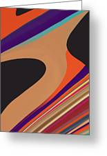 Abstract 2 Greeting Card