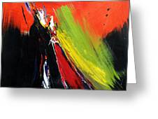 Abstract 2002 Greeting Card