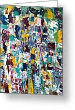 Abstract 2018-02 Greeting Card