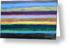 Abstract 215 Greeting Card