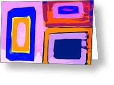 Abstract 223b Greeting Card