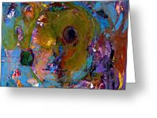 Abstract 233 Greeting Card by Johnathan Harris
