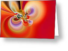 Abstract 239 Greeting Card