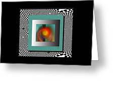 Abstract 2612 Greeting Card