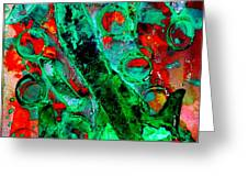 Abstract 29 Greeting Card
