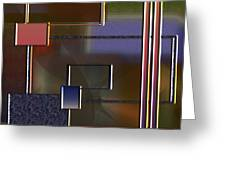 Abstract 2964 Greeting Card