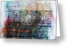 2e Abstract Expressionism Digital Painting Greeting Card