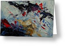 Abstract  33900122 Greeting Card