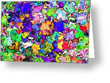 Abstract 369 Greeting Card
