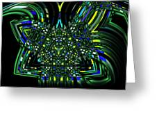 Abstract 401 Greeting Card
