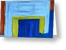 Abstract 402 Greeting Card