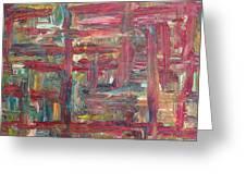 Abstract 403 Greeting Card