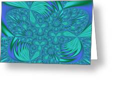 Abstract 404 Greeting Card
