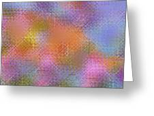 Abstract 405 Greeting Card