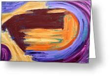 Abstract 413 Greeting Card