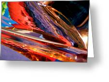 Abstract 414 Greeting Card