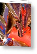 Abstract 415 Greeting Card