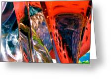 Abstract 417 Greeting Card