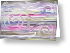 Abstract 436 Greeting Card