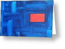 Abstract 443 Greeting Card