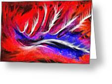 Abstract #45 Greeting Card