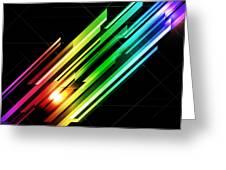Abstract 45 Greeting Card