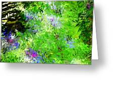 Abstract 5-26-09 Greeting Card