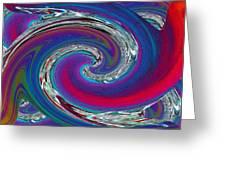 Abstract 5 Greeting Card