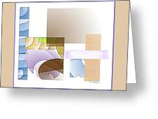 Abstract #503 Greeting Card