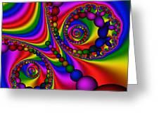 Abstract 505 Greeting Card